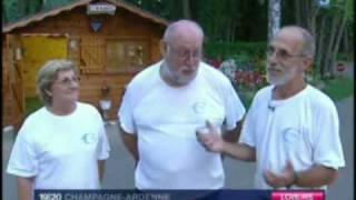 Camping de L'Ile Cherlieu Arcis-sur-Aube  TV-uitzending France 3 .MPG