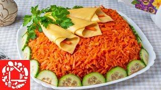 Весенний Салат на 8 Марта! Красиво, Вкусно и Легко!