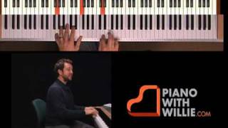 Learn Piano Improvisation - Part 11 - Chord/scale relationship