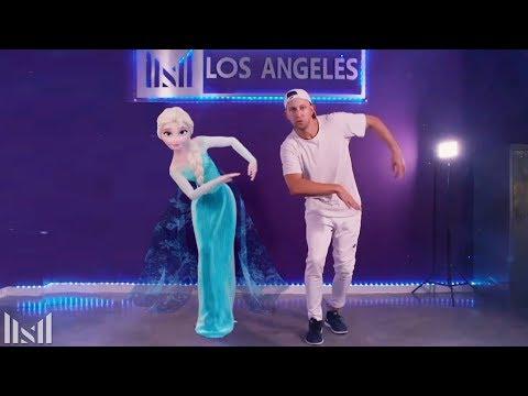 """LET IT GO"" Dubstep Dance ft Elsa"