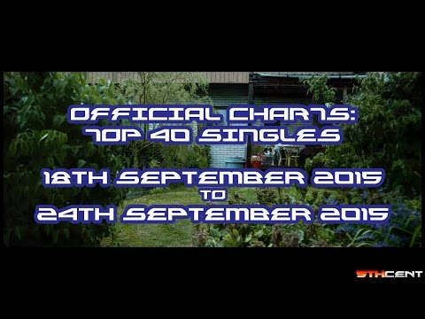 Official Charts (UK): Top 40 Singles (18th September 2015 - 24th September 2015)
