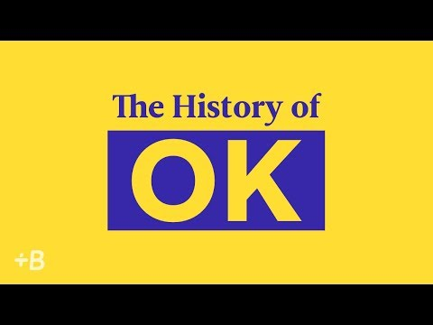The History Of OK: How A Small Word Had A Huge Impact On English