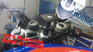 Navi Halterung - GPS Mounting - BMW S1000RR by HORNIG