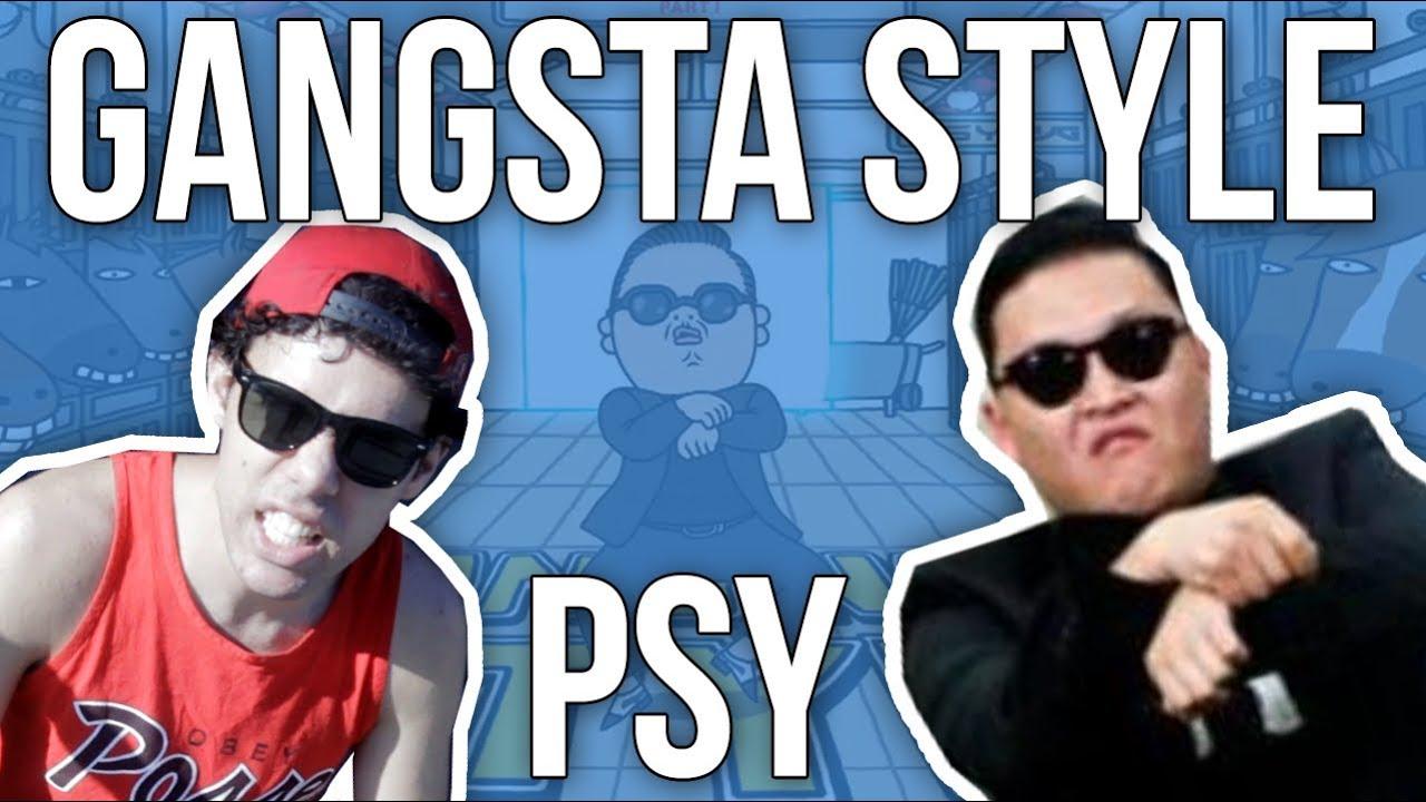 GANGSTA STYLE Parody of PSY - GANGNAM STYLE (강남스타일) M/V