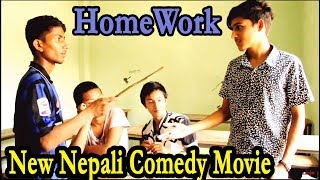 """HomeWork"" - a nepali short comedy movie"