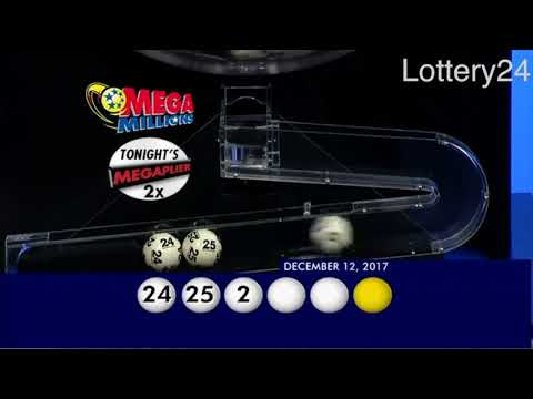 2017 12 12 Mega Millions Numbers and draw results