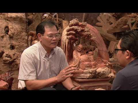 Nghệ nhân điêu khắc tượng gỗ Đạt Ma số 1 Việt Nam