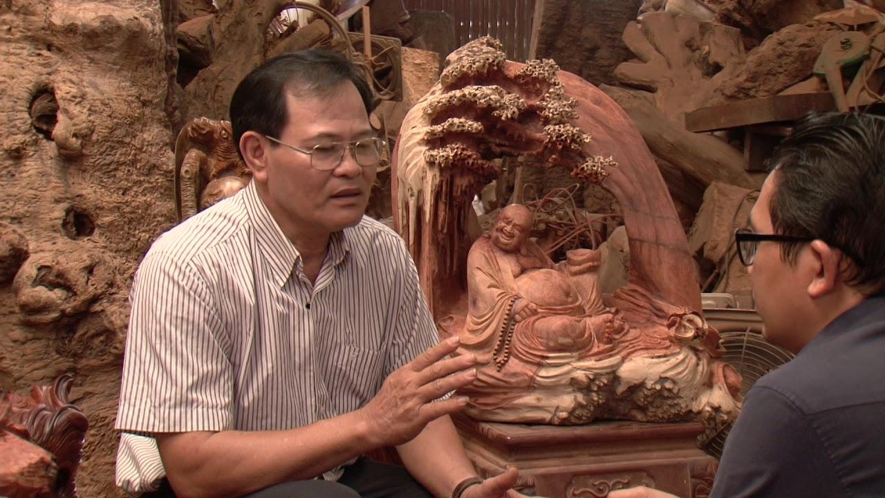 Nghệ Nhân Quốc Gia NGUYỄN GIẢN TÂN - Nhà Điêu Khắc Tượng Gỗ ĐẠT MA SƯ TỔ Số 1 Việt Nam