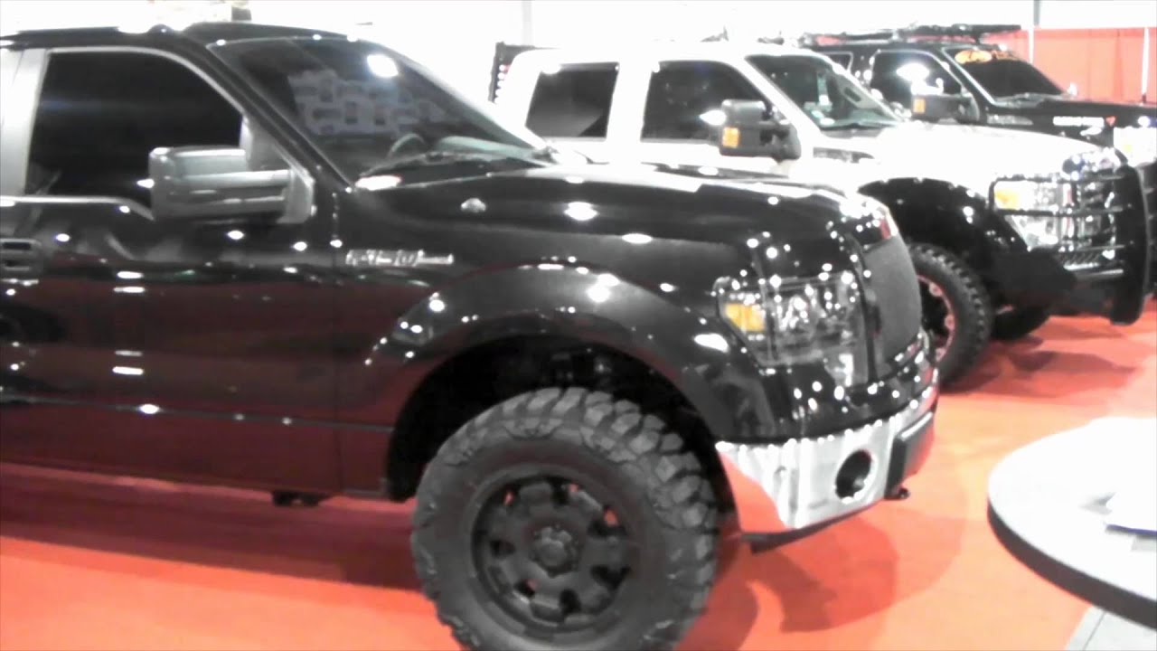 DUBSandTIRES.com 2011 Ford F 150 Review 18 inch Matte ...