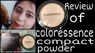 Review of coloréssence compact Powder (pinkish beige)