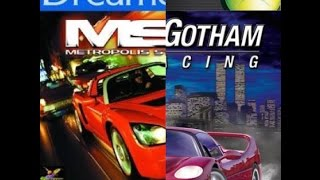 Metropolis Street Racer vs Project Gotham Racing