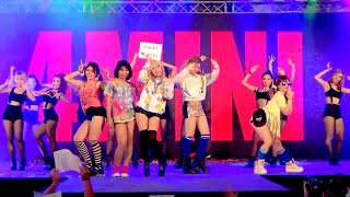 150920 4Mini cover 4Minute - Volume Up + Crazy + Roll Deep + Hot Issue @Esplanade #2 (Big Final)