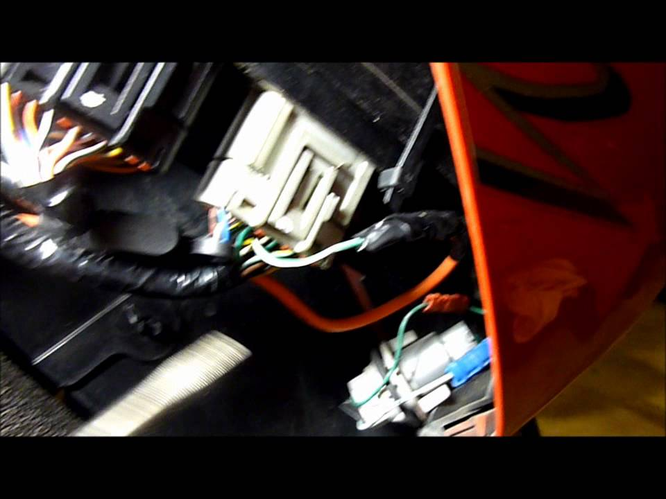 4 Wire Oxygen Sensor Wiring Diagram 2004 Pt Cruiser Radio Using A Non-hiss Ecu On Hiss-equipped Honda Motorcycle - Youtube