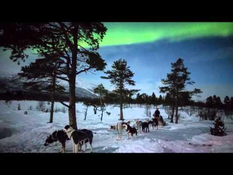 Aurora Borealis Kiruna in Swedish Lapland