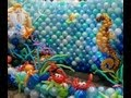 Under the Sea Imersive Photo Backdrop by Airheads Balloon Art