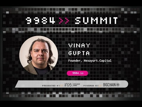 Vinay Gupta, Hexayurt.Capital | Blockchain: Ecology, State and Anarchy