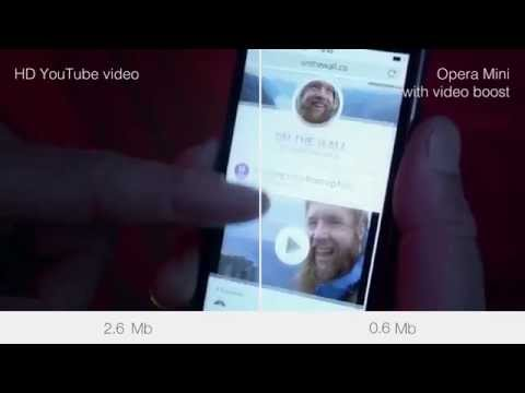Opera Mini for iOS now with video boost