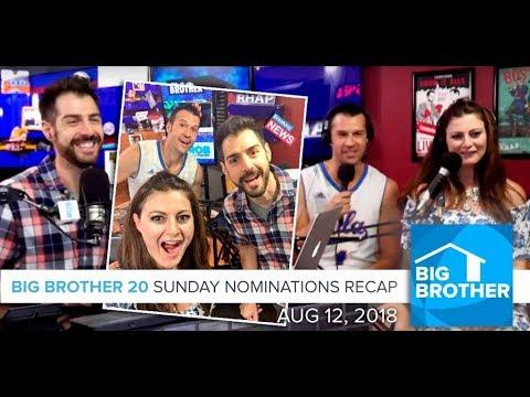 BB20 Sunday Aug 13 Recap with Brendon & Rachel