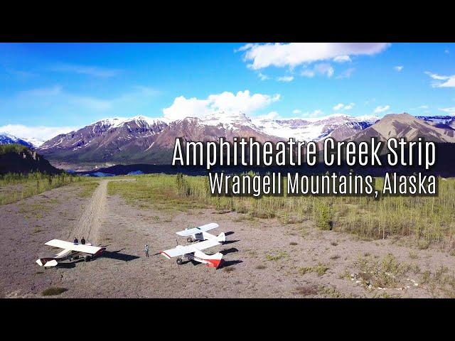 Amphitheatre Creek Strip   Wrangell Mts, Alaska   Geoff Oliver