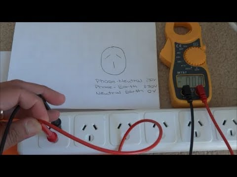 Ac Wiring 240 Dryer How To Use A Multimeter Measuring Ac Voltage Youtube