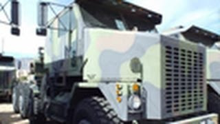 1994 Oshkosh M1070 Commercial Heavy Equipment Transporter HET on GovLiquidation.com