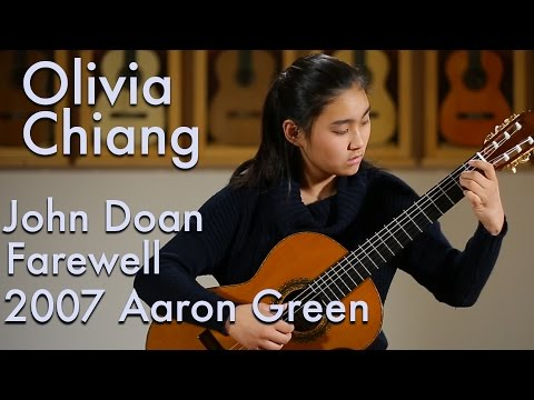 John Doan Farewell - Olivia Chiang plays 2007 Aaron Green