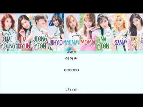 Twice - Cheer Up [Eng/Rom/Han] Picture + Color Coded HD