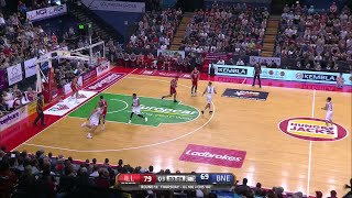 Travis Trice with 32 Points  vs. Illawarra Hawks