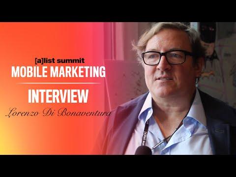 Lorenzo Di Bonaventura Interview - [a]list summit Mobile Marketing