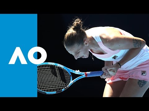 FINAL GAME: Karolina Pliskova defeats Serena Williams (QF) | Australian Open 2019