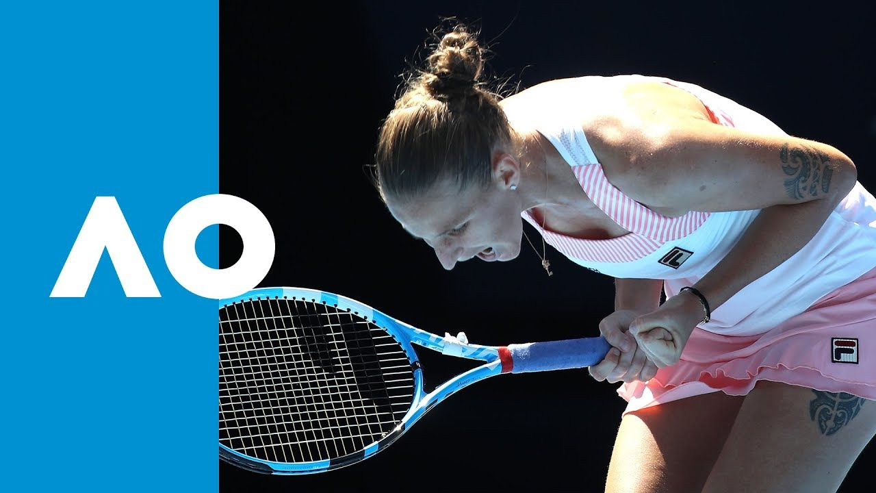 FINAL GAME: Karolina Pliskova defeats Serena Williams (QF) | Australian Open 2019 image