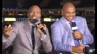 "Inside The NBA: Chuck makes Fun of Shaq's ""GOOGLE ME"" Statement"