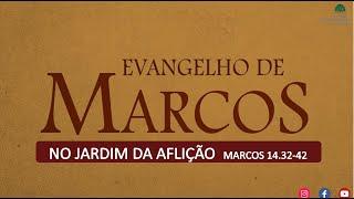 ESTUDO BIBLICO - No Jardim da Aflição. MARCOS 14.32-42