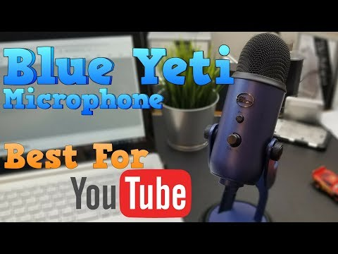 Blue Yeti Microphone - Best YouTube Microphone! | Unboxing | Demo | Review