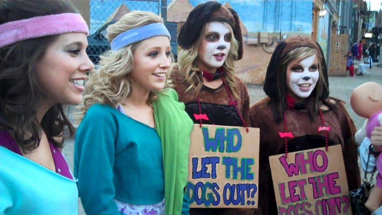 2010 halloween block party athens, ohio - youtube