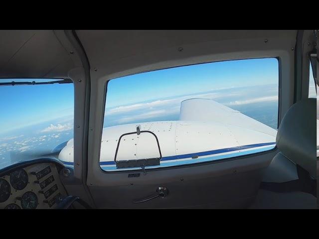 Flight #013 Twin Comanche Commutes to Dallas - Arrival in Tennessee for fuel