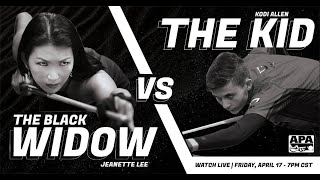 Widow VS The Kid - Student VS Master - Jeanette Lee Pandemic Exhibition Match