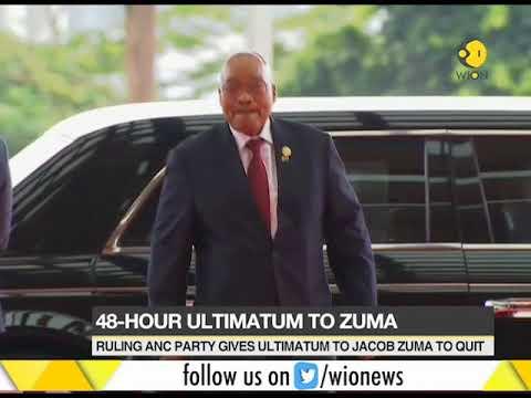48 hour ultimatum to Jacob Zuma