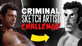 Artists Draw Celebrities (Based Only On Description)