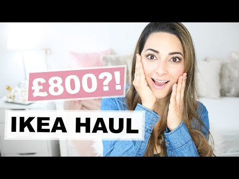 IKEA HAUL APRIL 2018 | IKEA HEMNES DAYBED REVIEW | Ysis Lorenna