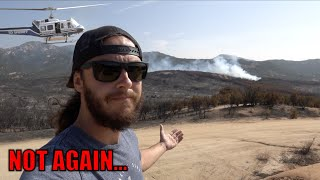 Well... There's another fire near the ranch