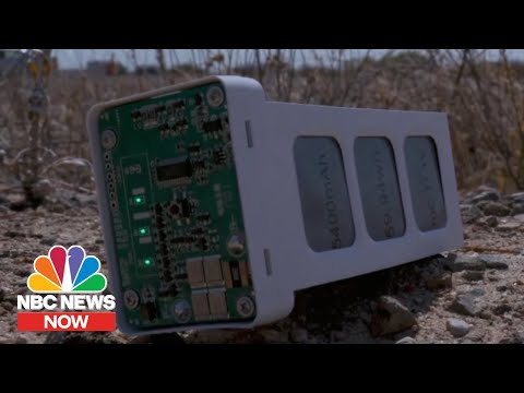 Anduril: The Startup Building Surveillance Systems & Drone-Smashers For The Military | NBC News Now