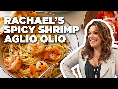 Spicy Shrimp Aglio Olio   Food Network