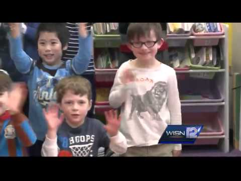 2/27 Shout Out: Richards School Kindergartners, Whitefish Bay