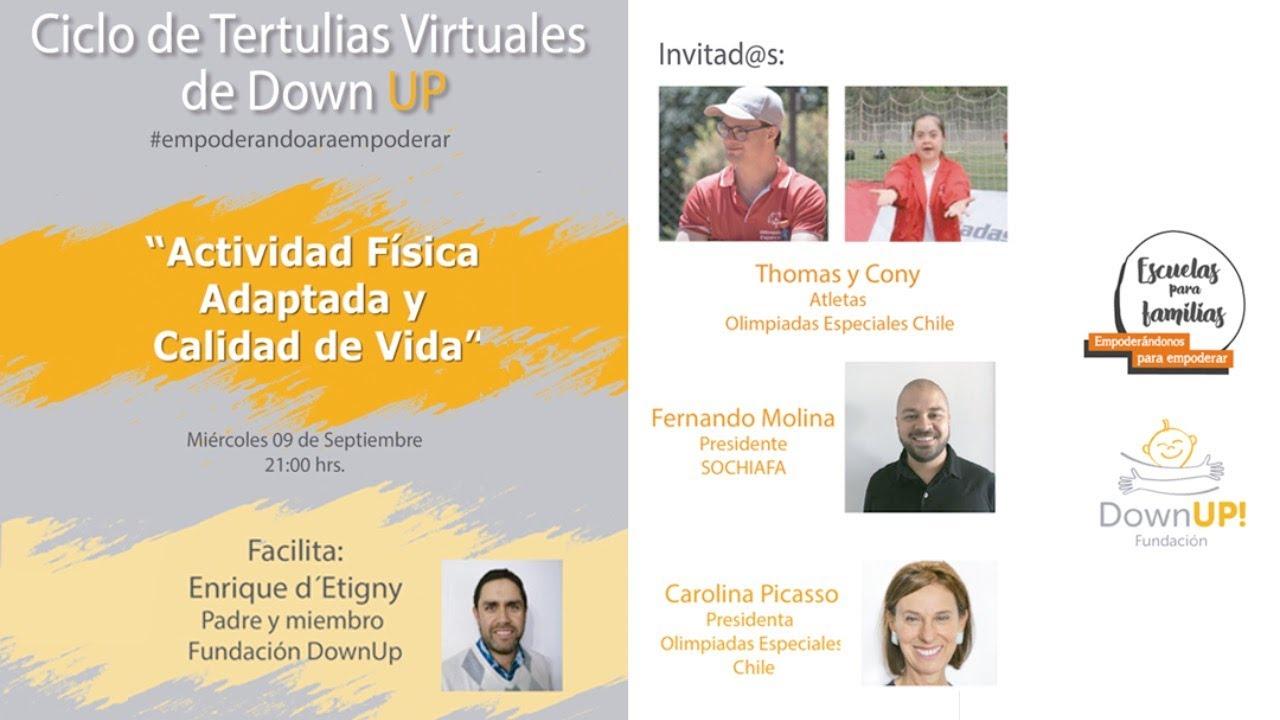 Charla con Atletas de Olimpiadas Especiales Chile