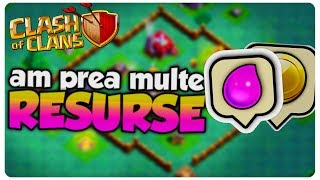 Am prea multe resurse | Clash of Clans Romania