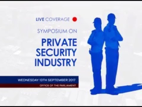 Public Symposium: JSC National Security - Private Security Industry in T&T - Part 2