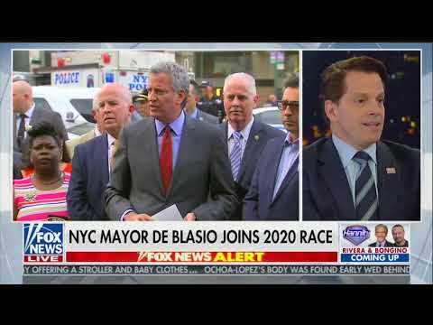 Sean Hannity Pitches Anthony Scaramucci for Next New York City Mayor