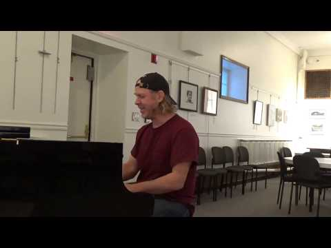 Phil Collins AGAINST ALL ODDS live piano & vocal cover NO AUTOTUNE