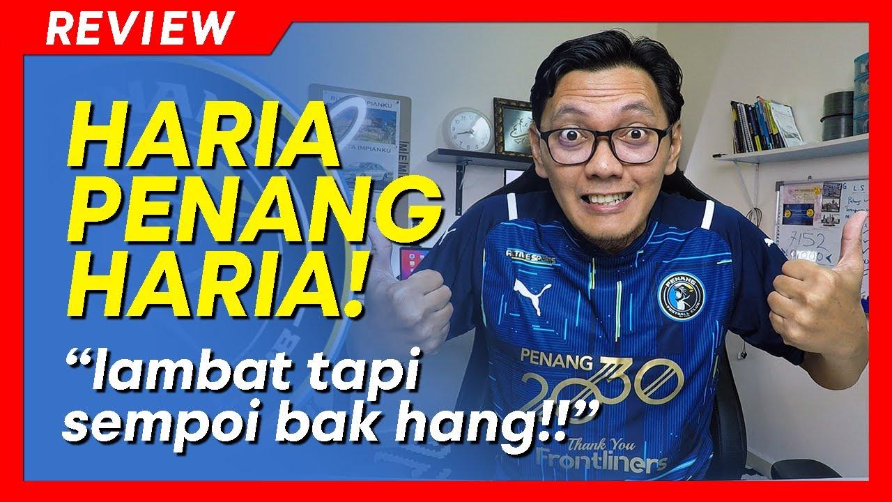Download REVIEW JERSI Penang FC 2021   Sempoiiii! barang rare tu..